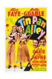 Tin Pan Alley  from Left: Alice Faye  Betty Grable  Jack Oakie  John Payne  1940