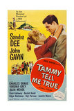 Tammy Tell Me True  from Left: Sandra Dee  John Gavin  1961