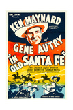 In Old Santa Fe  Gene Autry  1934