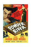 Powder River  from Left: Rory Calhoun  Corinne Calvet  1953