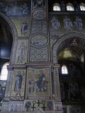 Mosaics of Monreale Cathedral  with Jesus Crowning King William II