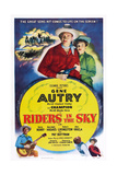Riders in the Sky  from Left: Gene Autry  Gloria Henry  1949