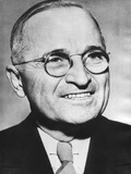 Portrait of Harry Truman around the Time He Was Elected as Fdr's Vice President  Ca 1944