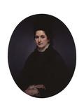 Portrait of Angiolina Rossi-Hayez