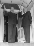 President Truman and Prime Minister Mohammed Mossadegh of Iran at Blair House