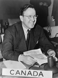 Lester Pearson  Canada's Delegate to the General Assembly of the United Nations  1947