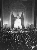 Unveiling of the George Washington Statue  at the National Masonic Memorial