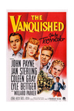 The Vanquished  from Left: John Payne  Jan Sterling  Lyle Bettger  Coleen Gray  1953