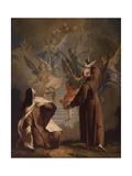 Meeting Between St Peter D'Alcantare and a Nun