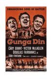 Gunga Din  Top L-R: Cary Grant  Victor Mclaglen  Douglas Fairbanks Jr  1939