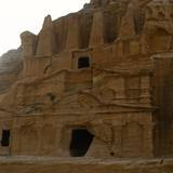 Nabataean Obelisk Tomb and the Triclinium  Petra  Jordan