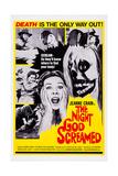 The Night God Screamed  Center: Jeanne Crain  1971