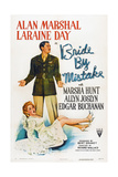 Bride by Mistake  Laraine Day (Front)  Alan Marshal  1944