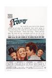 Fanny  from Left: Maurice Chevalier  Leslie Caron  Horst Buchholz  Charles Boyer  1961