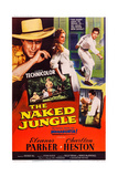 The Naked Jungle  Left and Right: Charlton Heston; Center: Eleanor Parker  1954