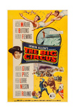 The Big Circus  Top Right: Kathryn Grant  David Nelson; Lower Left: Victor Mature  1959