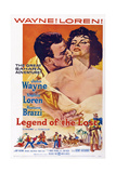 Legend of the Lost  John Wayne  Sophia Loren  1957