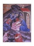 Adoration of the Magi Book of Hours of Mary from Navarra  1340