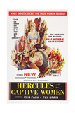 Hercules and the Captive Women  Center: Reg Park  1961