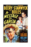 A Message to Garcia  from Left: Wallace Beery  Barbara Stanwyck  John Boles  1936