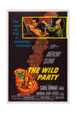 The Wild Party  Top  from Left: Carol Ohmart  Anthony Quinn  Kathryn Grant  1956