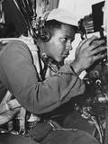 African American Gunner on a B-29 Super Fortress of the 98th Bomb Wing During the Korean War