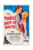 Three Men in White  (Aka 3 Men in White)  from Left: Van Johnson  Marilyn Maxwell  1944