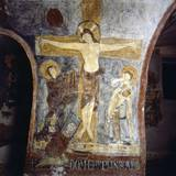 Crucifixion with the Abbot Epiphanius Kneeling