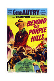 Beyond the Purple Hills  Gene Autry  Champion the Wonder Horse  1950