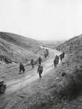 US 16th Infantry  2nd Battalion Moving Through the Kasserine Pass on Feb 26  1943