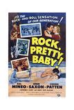 Rock  Pretty Baby!  John Saxon  Sal Mineo  Luana Patten  1956
