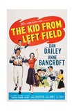 The Kid from Left Field  from Left: Billy Chapin  Dan Dailey  Anne Bancroft  1953