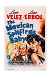 The Mexican Spitfire's Baby  from Left: Marion Martin  Leon Errol  Lupe Velez  1941