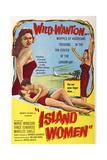 Island Women  from Left: Marilee Earle  Vince Edwards  Marie Windsor  1958