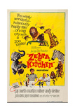 Zebra in the Kitchen  Bottom L-R: Karen Green  Jay North  Martin Milner  Andy Devine  1965