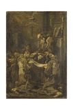 Communion of the Capuchins  18th C Bologna  Italy