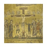 Crucifixion  Mosaic in St Mark's Cathedral