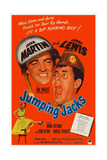 Jumping Jacks  Top from Left: Dean Martin  Jerry Lewis; Bottom Left: Mona Freeman  1952