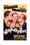 High Flyers  L-R: Robert Woolsey  Lupe Velez  Bert Wheeler  1937
