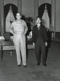 Capt Gaetano Faillace's Photo of a Dominatingly Tall Macarthur Next to Smaller Japanese Emperor
