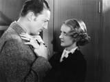 Satan Met a Lady  from Left  Warren William  Bette Davis  1936
