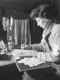 US Army Nurse Writes a Letter Home after 12 Hours of Work