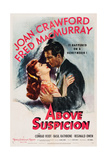 Above Suspicion  from Left  Joan Crawford  Fred Macmurray  1943