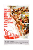 Tarzan and the Great River  Mike Henry  Diana Millay  1967