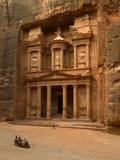 Al Khazneh or Treasury at Petra  Jordan