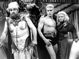Flash Gordon  from Left: Jack Lipson  Buster Crabbe  Jean Rogers  1936