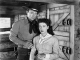 Angel and the Badman  from Left  John Wayne  Gail Russell  1947
