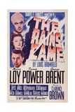 The Rains Came  from Top: Tyrone Power  Myrna Loy  George Brent  1939