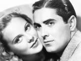 Second Fiddle  from Left: Sonja Henie  Tyrone Power  1939