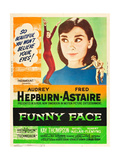 Funny Face  Audrey Hepburn  Fred Astaire  1957